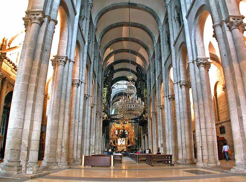 Внутренняя часть собора